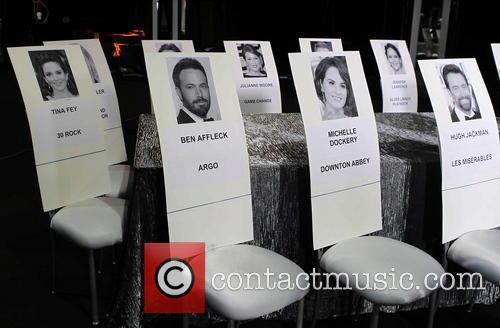 Behind-The-Scenes set up for SAG Awards