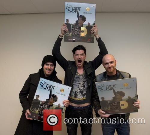 The Script perform a sold out concert