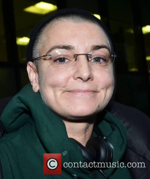 Sinead O'Connor Smokes