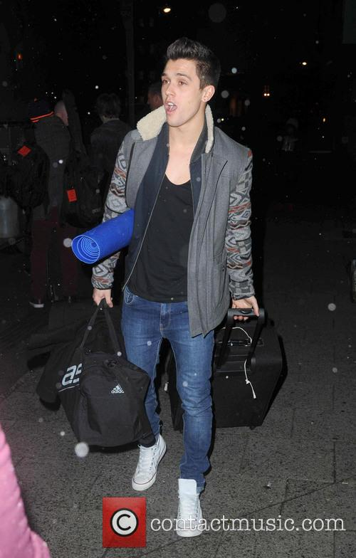X Factor 2012 contestants hotel arrivals