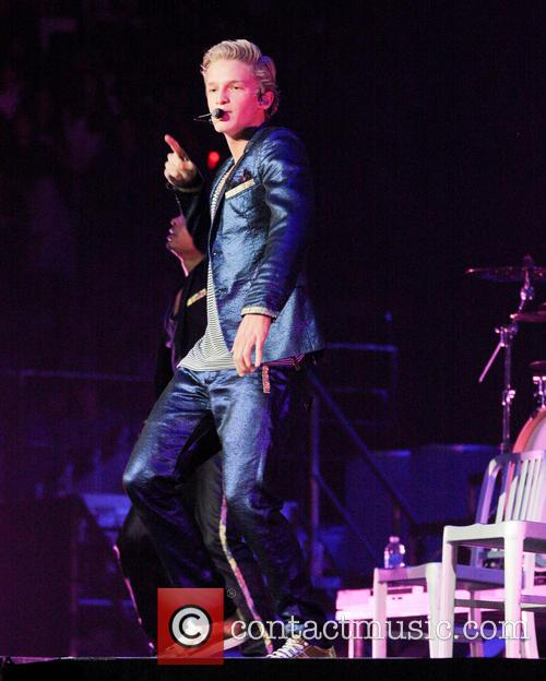 Cody Simpson performs during the 'Believe Tour'