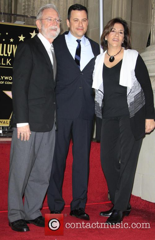 Jimmy Kimmel With His Parents 3