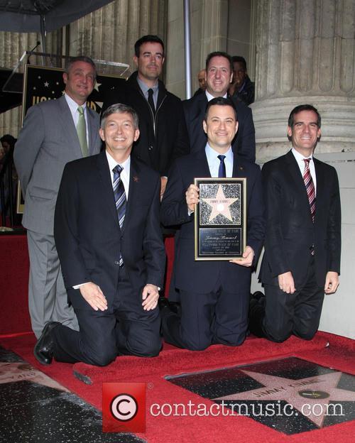 Leron Gubler, Jimmy Kimmel, Gil Garcetti, Carson Daly