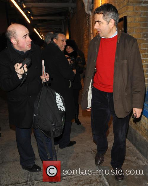 Rowan Atkinson and Fan 3