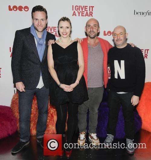 Rafe Spall, Denise Hicks, Dan Mazer and Boyd Hilton 3