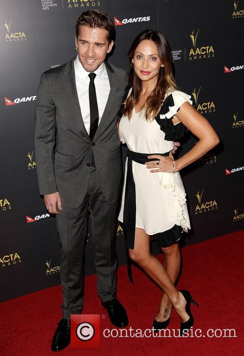 Hugh Sheridan and Natalie Imbruglia 1