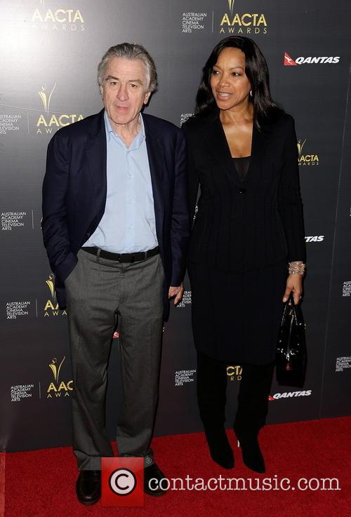 Robert De Niro and Grace Hightower 8