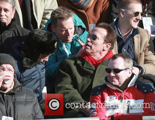 Celebs at the 73rd Hahnenkamm in Kitzbuehel