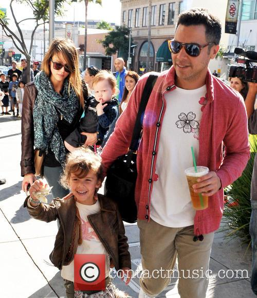 Jessica Alba, Honor Marie Warren, Haven Garner Warren and Cash Warren 4