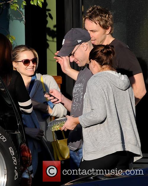 Pregnant Kristen Bell and Dax Shepard 2
