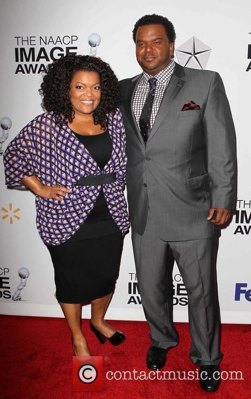 Yvette Nicole Brown and Craig Robinson 6
