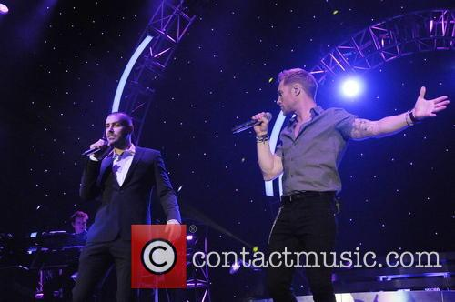 Ronan Keating and Shayne Ward 6