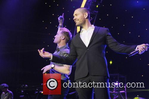 Ronan Keating and Shayne Ward 8