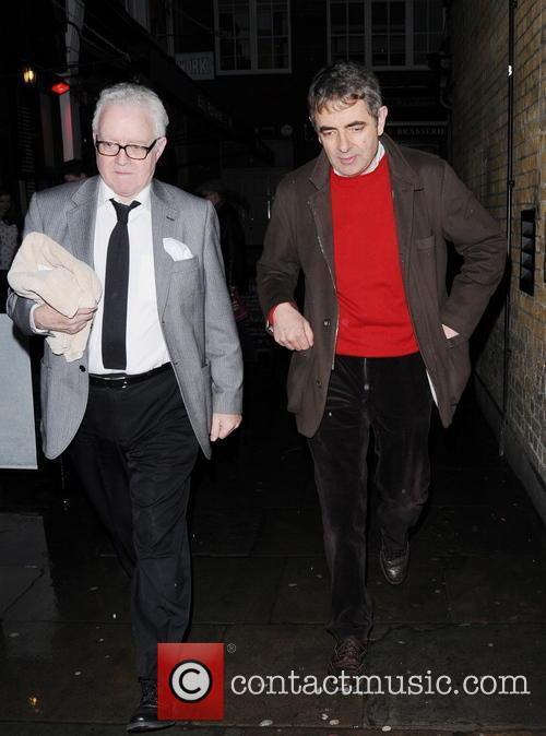 Rowan Atkinson Departs