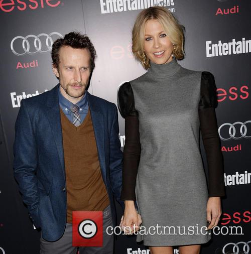 Bodhi Elfman and Jenna Elfman 2