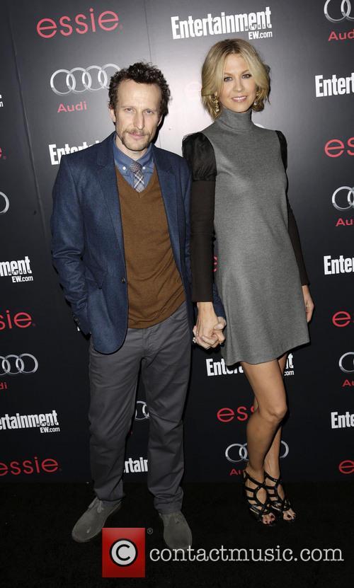 Bodhi Elfman and Jenna Elfman 1