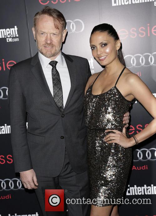 Jared Harris and Allegra Riggio 1