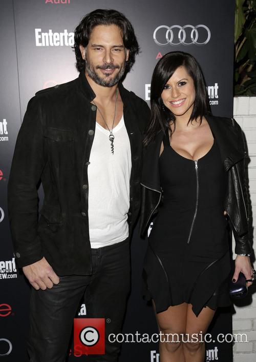 Joe Manganiello and Bridget Peters 3