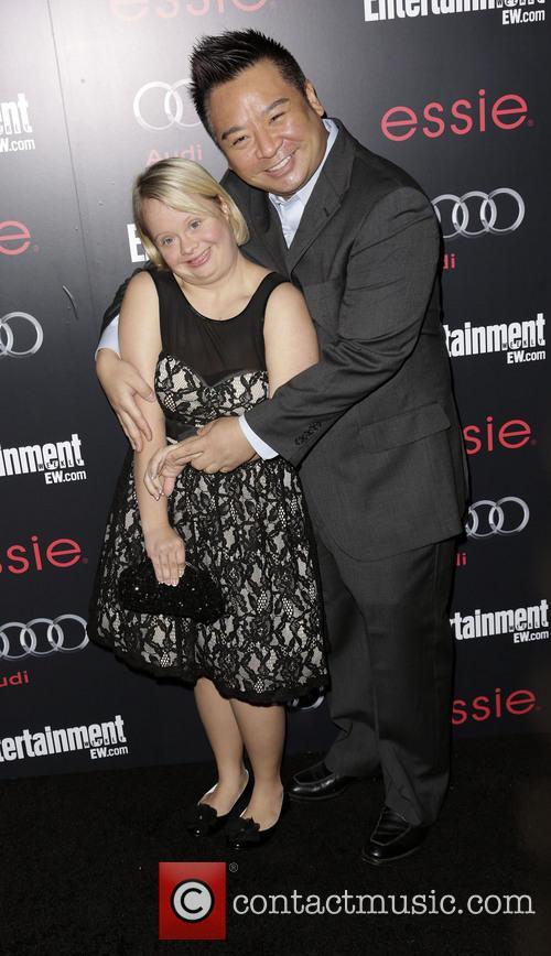 Lauren Potter and Rex Lee 2