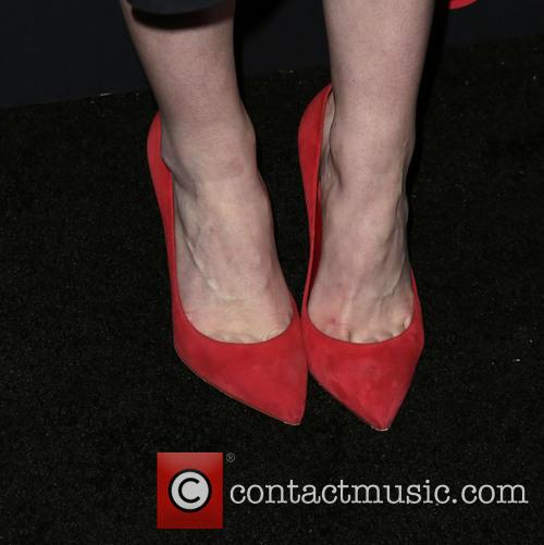 Michelle Dockery (shoe Detail) 9