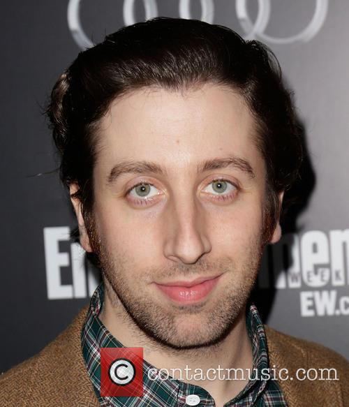 Simon Helberg and Jocelyn Towne 1