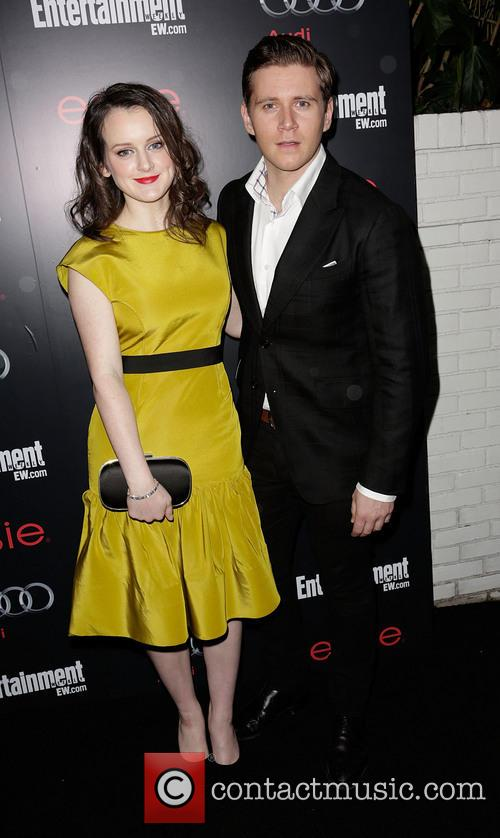 Sophie Mcshera and Allen Leech 4