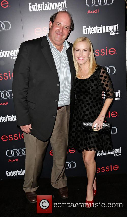 Brian Baumgartner and Angela Kinsey 2