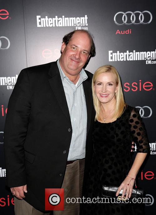 Brian Baumgartner and Angela Kinsey 3