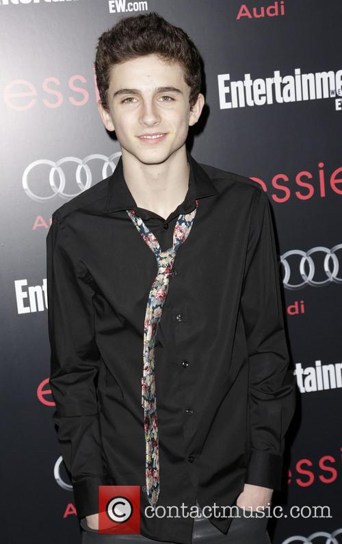 Timotheé Chalamet, Entertainment Weekly SAG Party