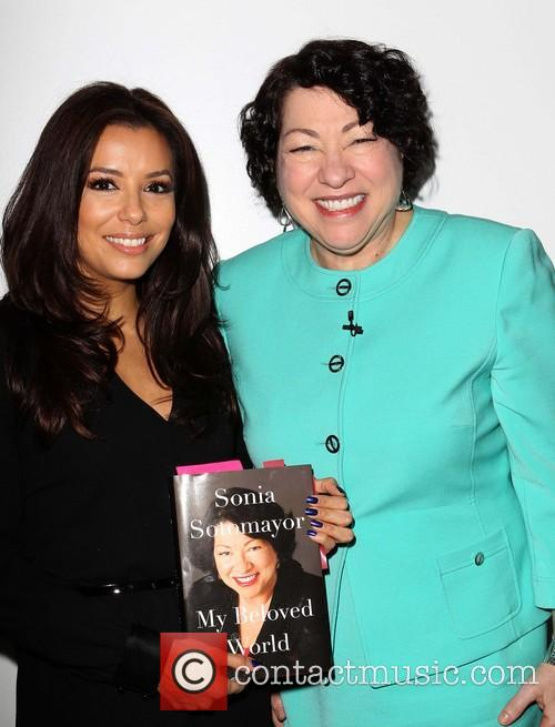 Eva Longoria and Us Supreme Court Justice Sonia Sotomayor 5