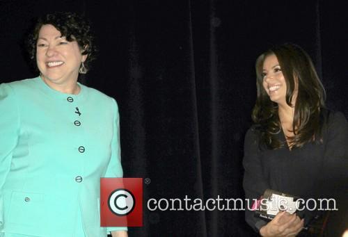 Us Supreme Court Justice Sonia Sotomayor and Eva Longoria 2