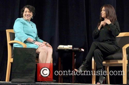 Us Supreme Court Justice Sonia Sotomayor and Eva Longoria 4