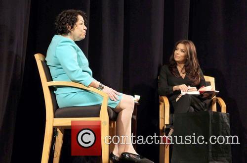 Us Supreme Court Justice Sonia Sotomayor and Eva Longoria 8