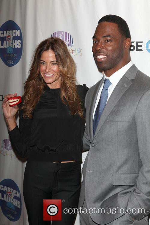 Kelly Bensimon and Justin Tuck 2