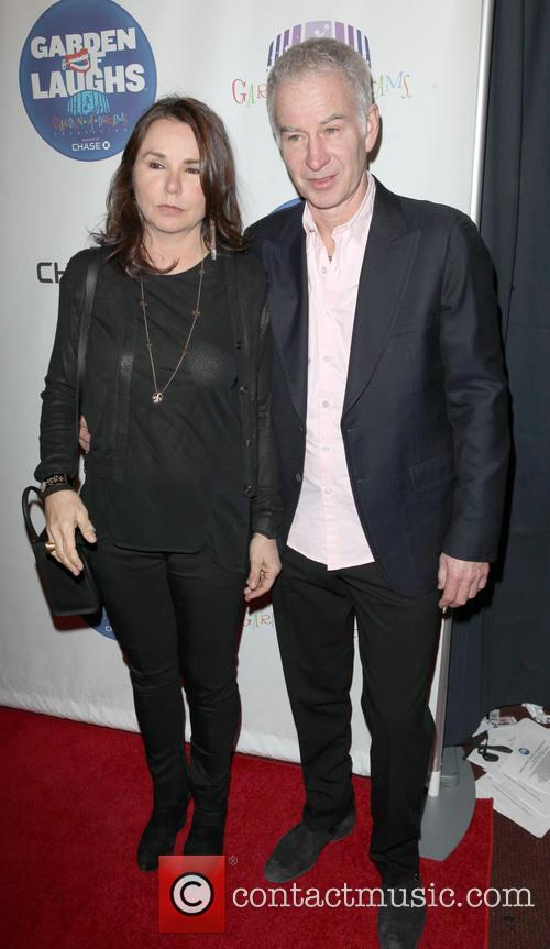 Patty Smith and John Mcenroe 6