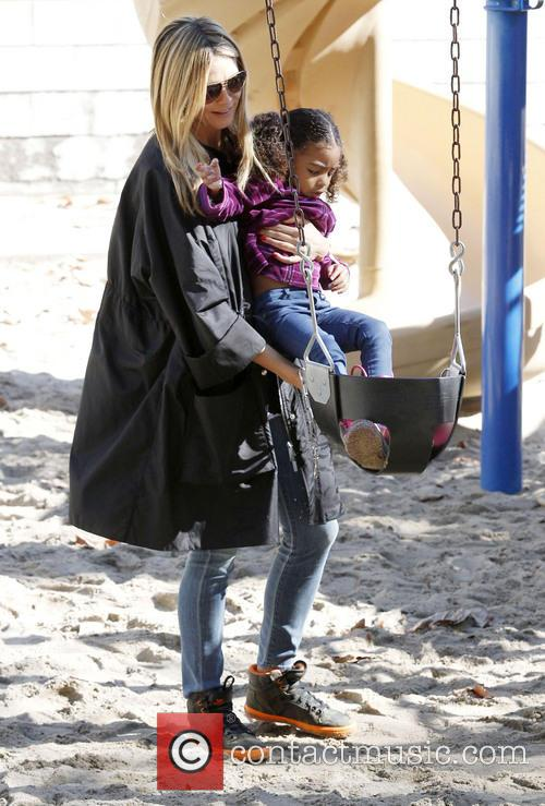 Heidi Klum and Daughter Lou 11