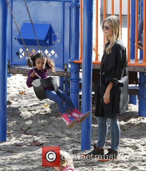 Heidi Klum and daughter Lou 5