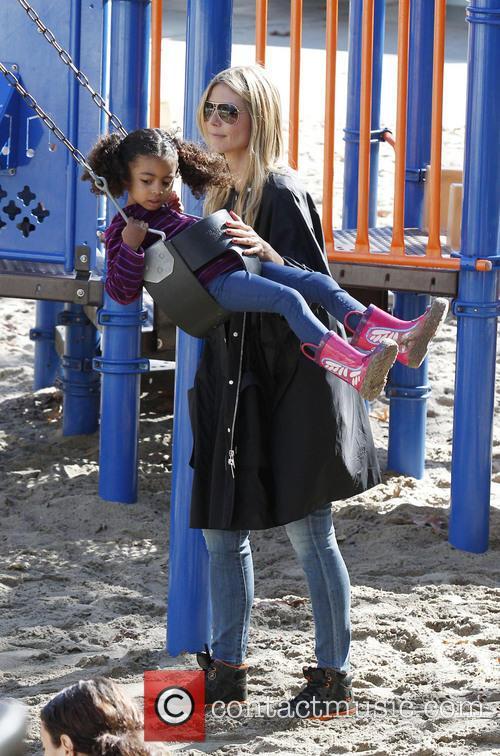 Heidi Klum and daughter Lou 6