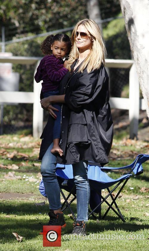 Heidi Klum and daughter Lou 8