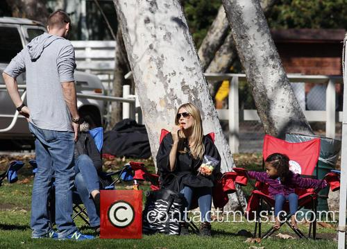 Heidi Klum, Daughter Lou and Martin Kristen 4