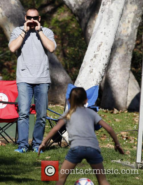 Heidi Klum enjoys a day out at the...
