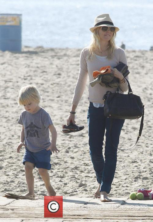 Naomi Watts and Son Samuel 9