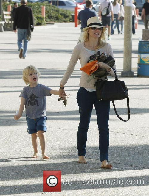Naomi Watts and Son Samuel 10