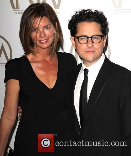 Katie Mcgrath and J.j. Abrams 2