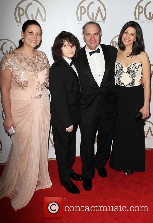 Max Weinstein, Bob Weinstein and Annie Clayton