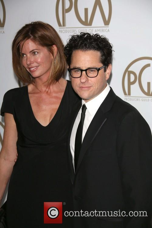 J.j. Abrams and Katie Mcgrath 2