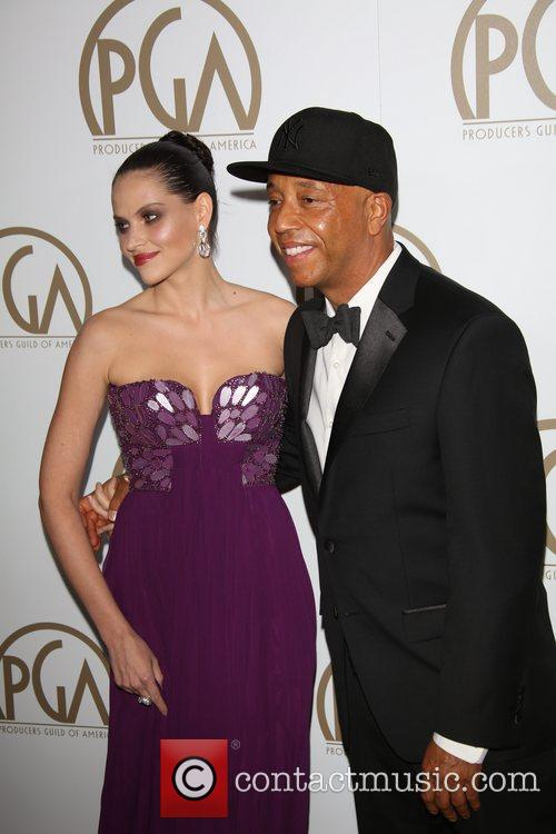 Russell Simmons and German Model Hana Nitsche 4