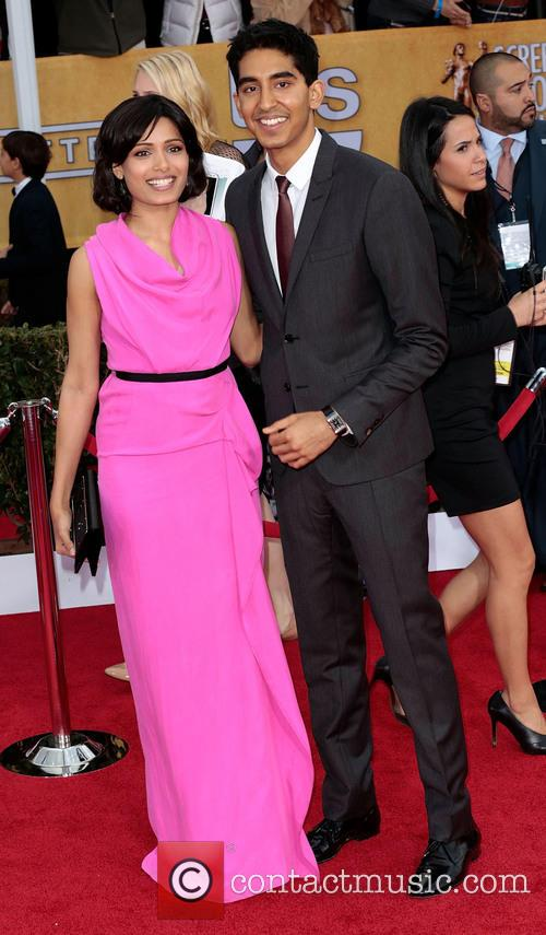 Freida Pinto and Dev Patel 5