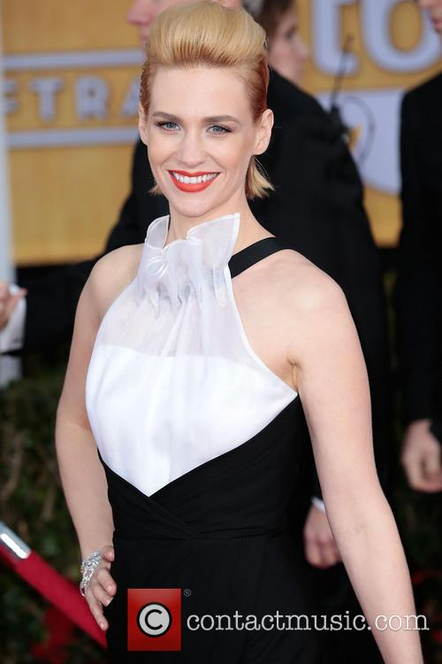january jones 19th annual screen actors guild sag 3471548