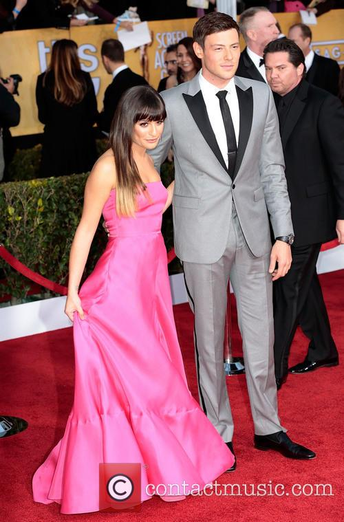 Lea Michele and Cory Monteith 7